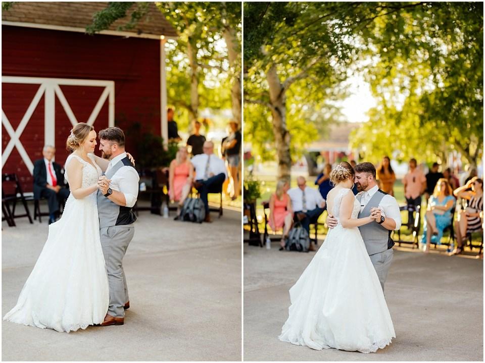 Outdoor Erickson Farmstead First Dance