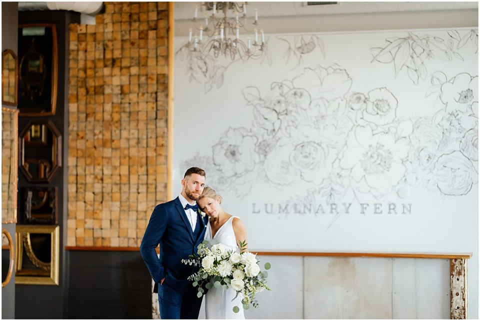 NP Event Space and Luminary Fern Wedding