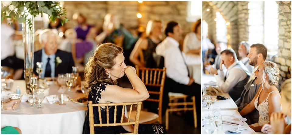 Reception at Mayowood Stone Barn, Rochester MN