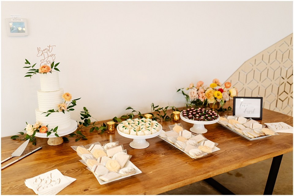 Marna's catering at Pinewood Weddings & Events