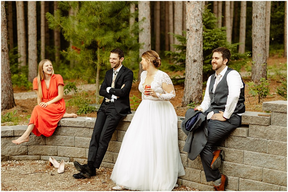 Pinewood Weddings & Events at sunset