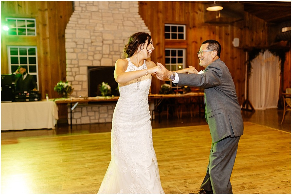 father daughter dance at Almquist Farm MN