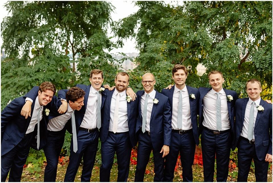Groomsmen attire for wedding from The Black Tux