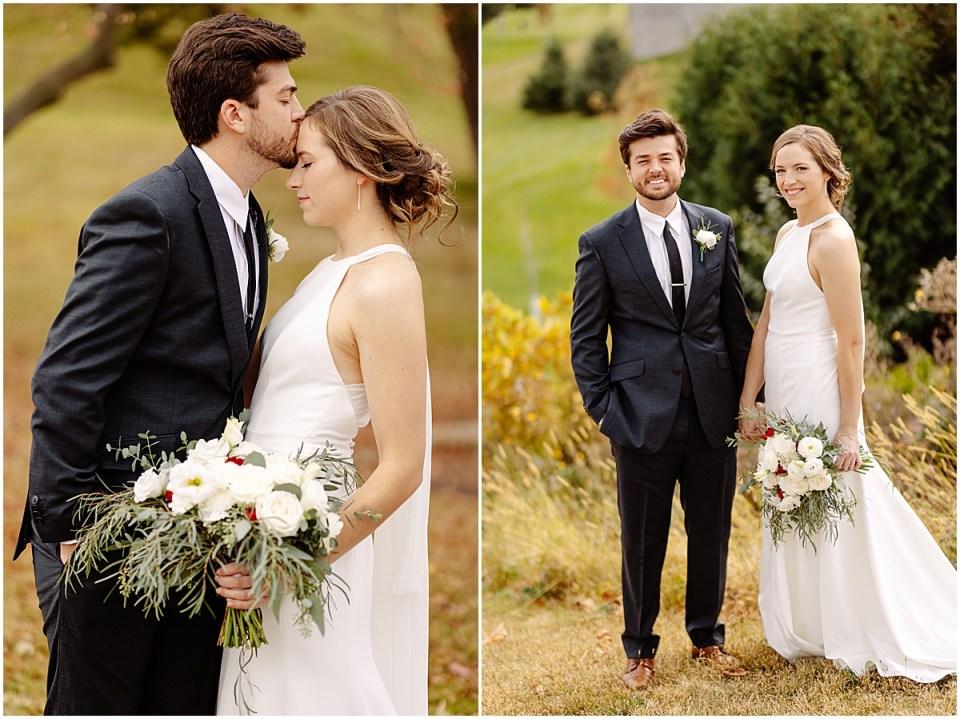 wedding portraits outside