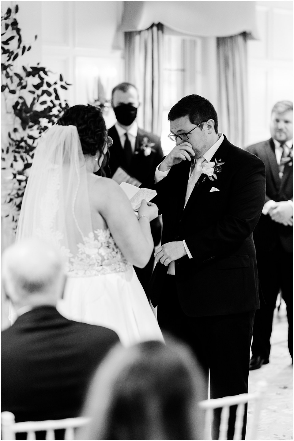 ceremony inside St. Paul College Club
