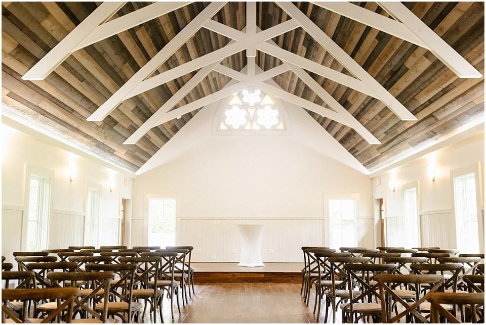 Grand View Lodge wedding chapel