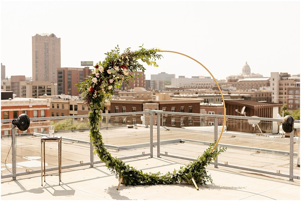 A'BULAE rooftop ceremony
