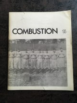 Combustion, edited by Souster, ran from 1957 to 1960, with this final issue (number 15) published in early 1966 as a shared number with Victor Coleman's Island Magazine (number 6).