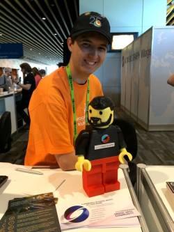 Lego Alain at Siggraph 2014