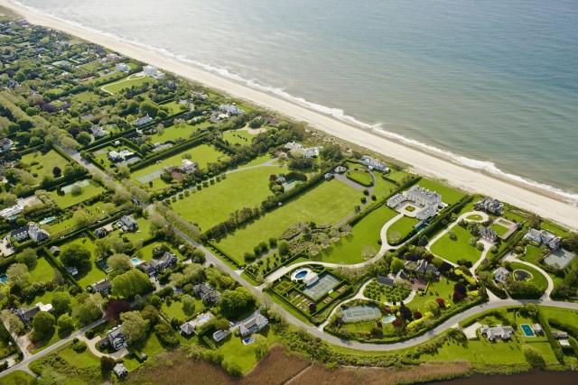 Cameron Davidson Hamptons Aerial