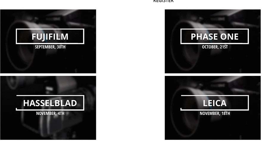 Fujifilm GFX system presentation by Capture Integration – September 30, 2021
