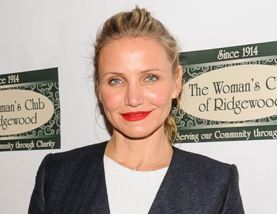Cameron Diaz isn't telling us what she's working on