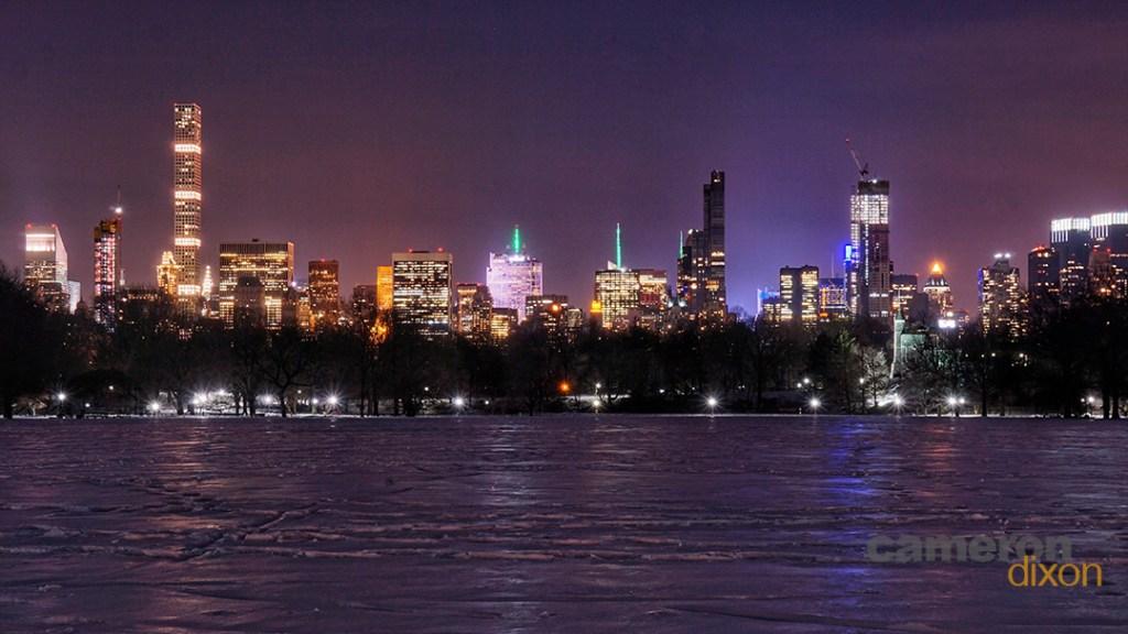 03-2017-New York Skyline - Central Park by Cameron Dixon-wm