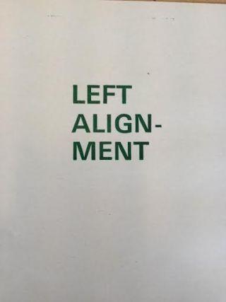 left paragraph allignment