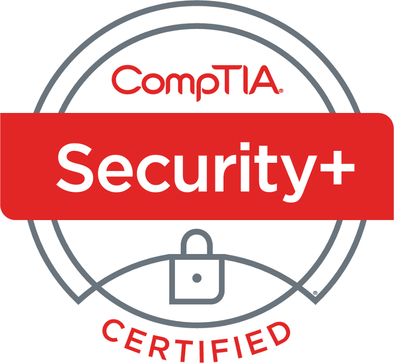 CompTIA Security+ is one of our certifications