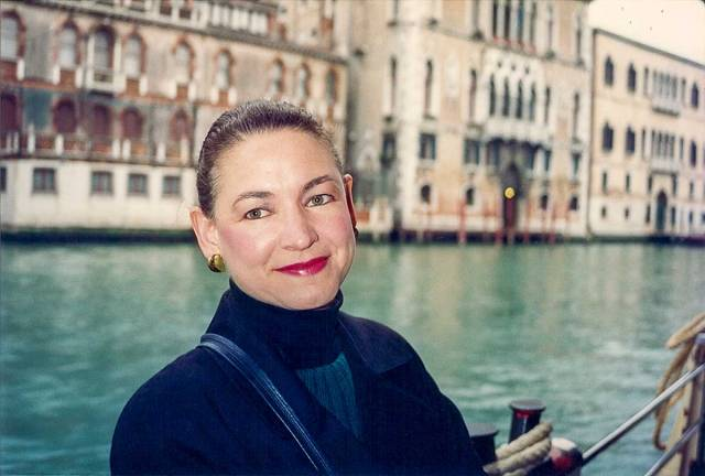 iconic photographs, Stephanie-in-Venice-(1993)