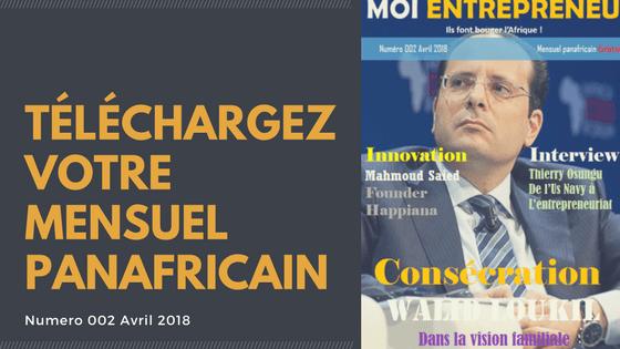 Téléchargez votre mensuel panafricain