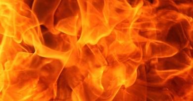 Les flammes c'est pour l'enfer et non nos usines…