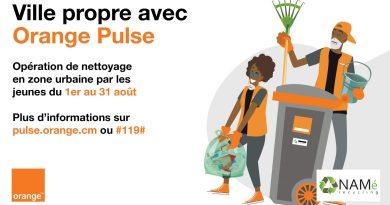 Ville Propre avec Orange Pulse est officiellement lancée à travers le Cameroun pendant toutes les vacances !