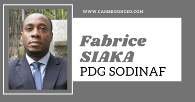 Fabrice SIAKA, PDG SODINAF: jeunesse, ambition, vitalité et force