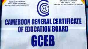 The Cameroon GCE Board, fully known as The Cameroon General Certificate of Education Board is the organization board of secondary school exams in the anglophone subsection of education in Cameroon.
