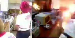 Biggy 237 kitchen on fire, housemates flee for their dear lives