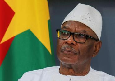 Mali: démission du président du IBK (Agences)