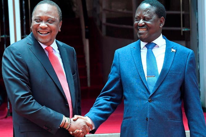 Kenyatta and Odinga's pact has led to a new elite alliance. Why it won't last (The Conversation)