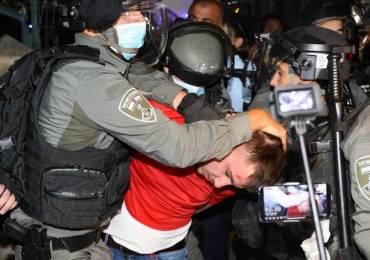 Palestine : L'armée d'occupation israélienne réprime sauvagement les jeunes mobilisés contre le vol des maisons