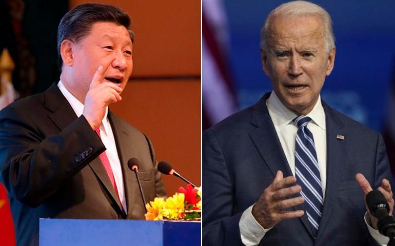 Biden menace de prendre les armes contre la Chine