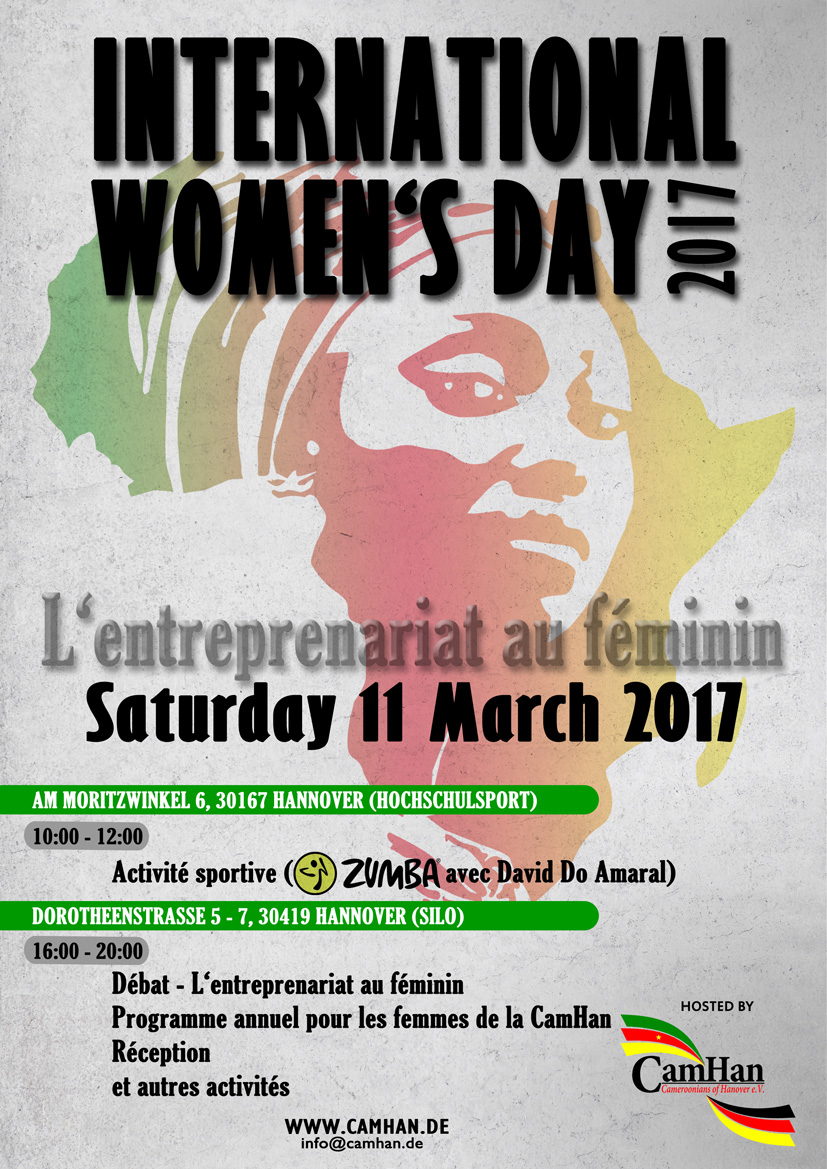 Flyer International Women's Day 2017 Hannover