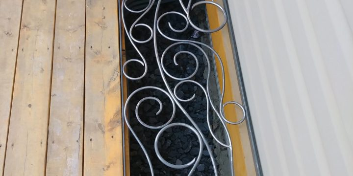 Iron Window Well Cover