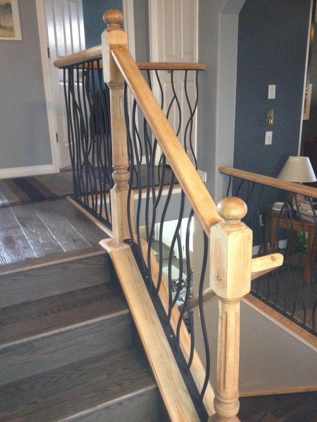 Lethaby Project BENT Iron Art Railing midway 5