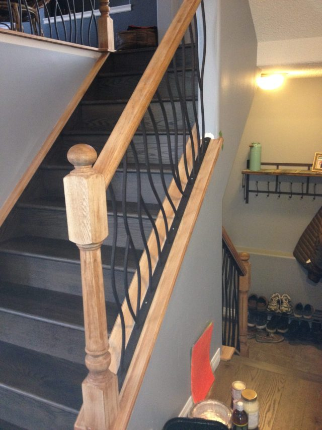 Lethaby Project BENT Iron Art Railing midway 2