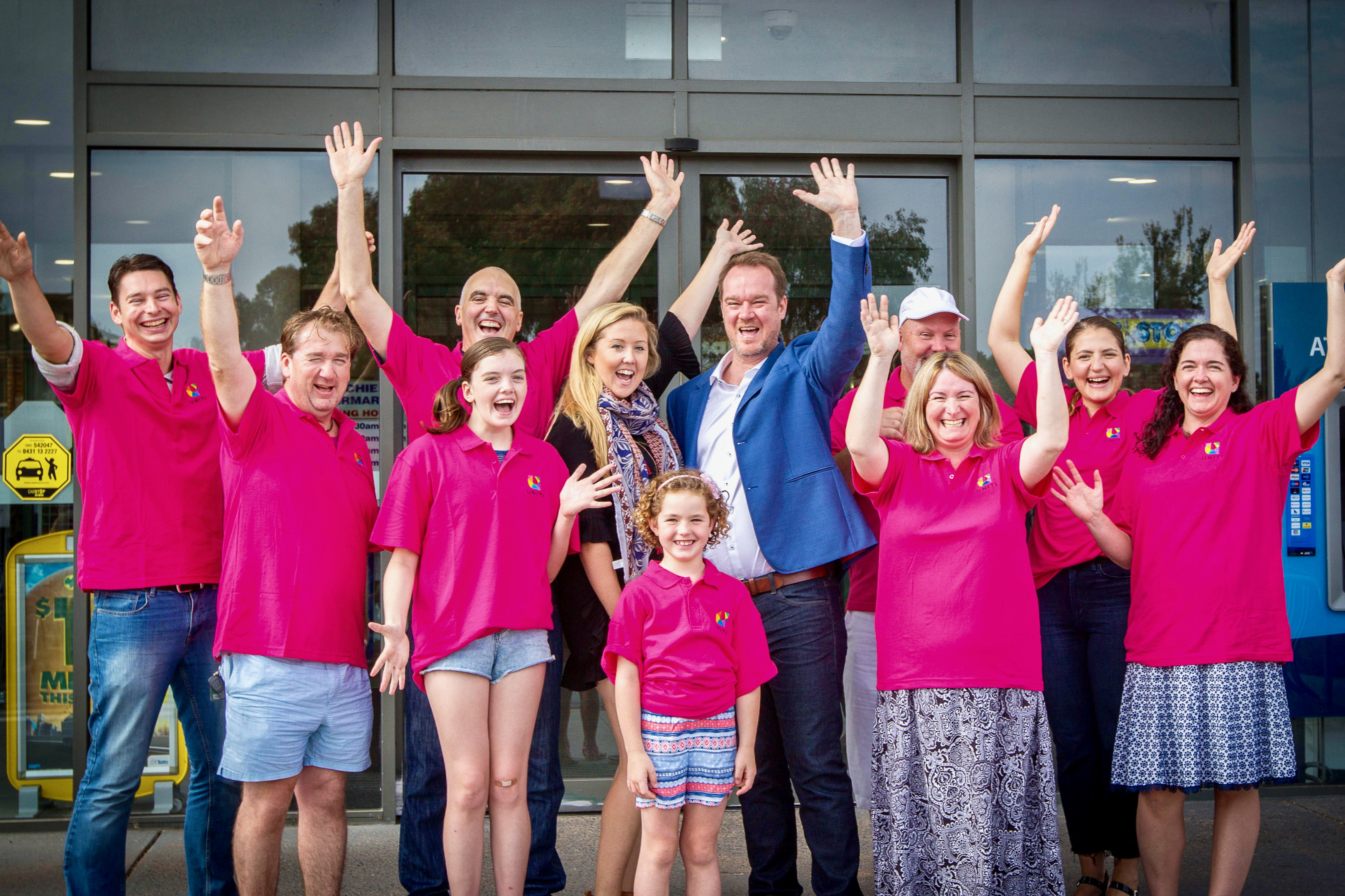Uniti Wireless and Aspendale Gardens Residents Association celebrate by Cameron Howe