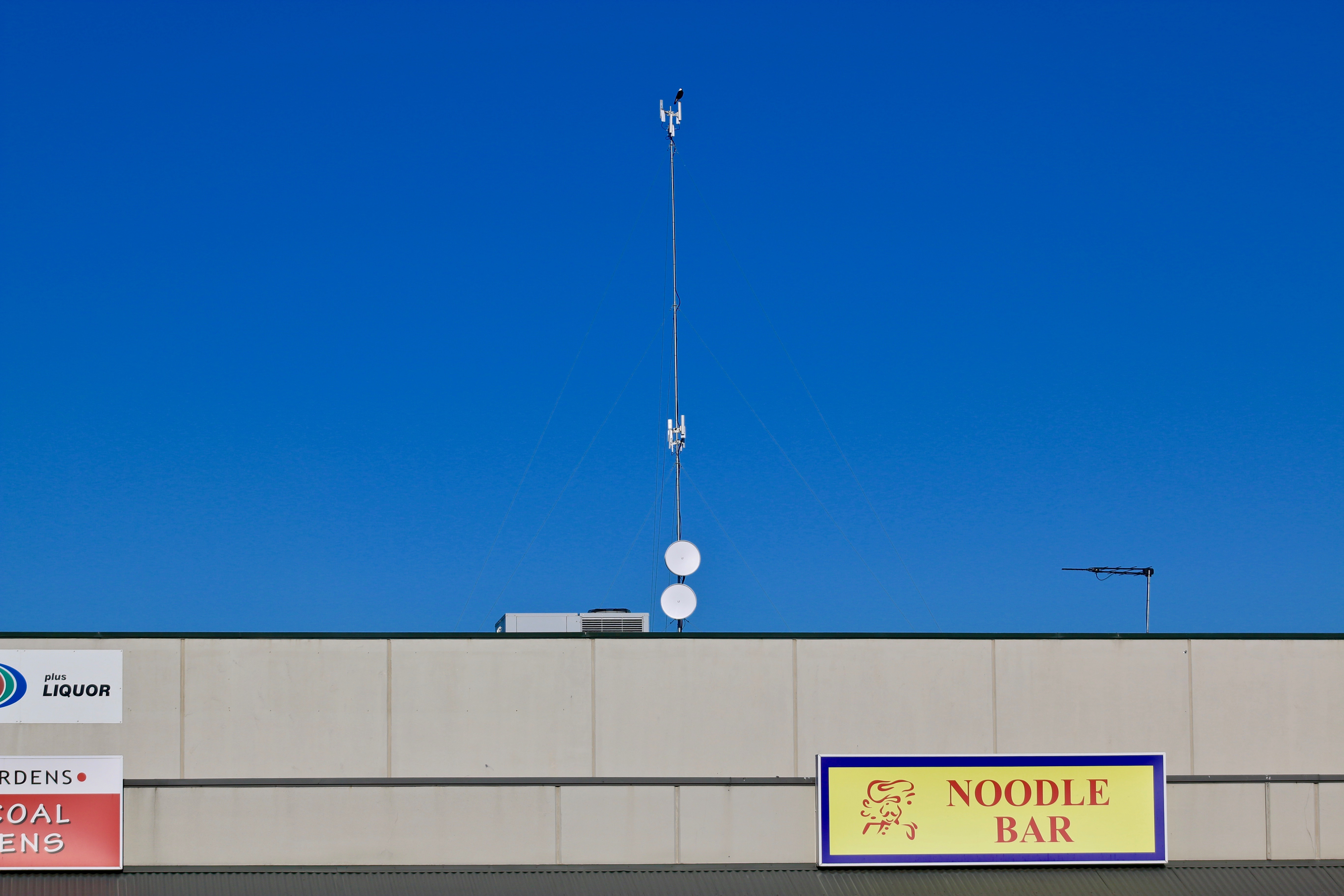 Uniti Wireless' tower at Aspendale Gardens Shopping Centre by Cameron Howe