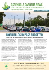Aspendale Gardens Residents Association (AGRA) Autumn 2018 Newsletter