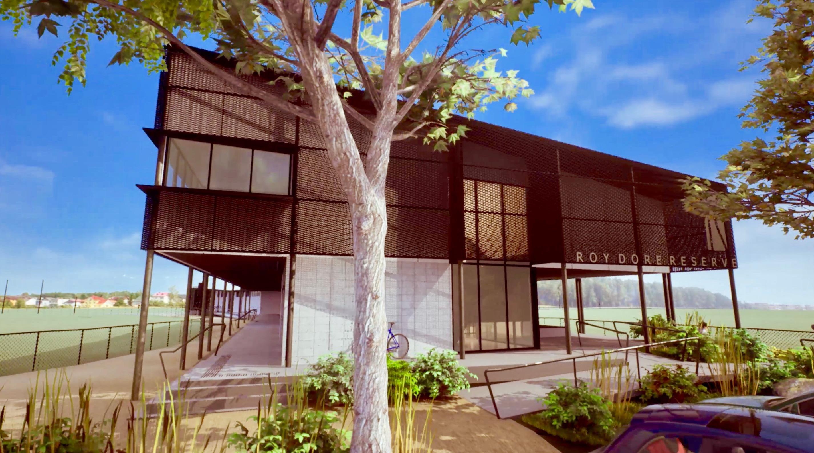 roy dore reserve redevelopment carrum cameron howe