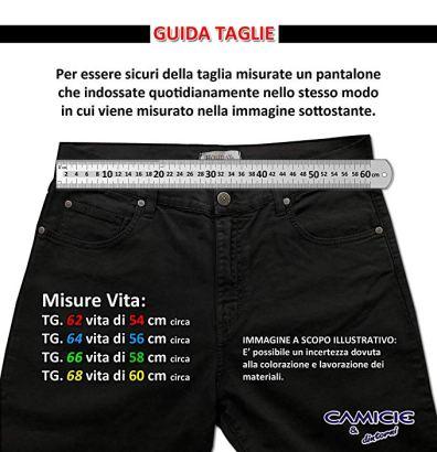 pantaloni taglie forti