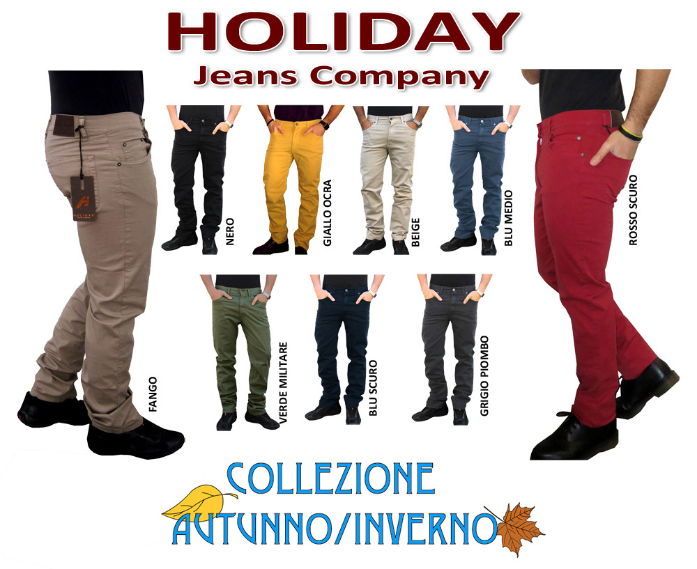 Pantaloni Holiday