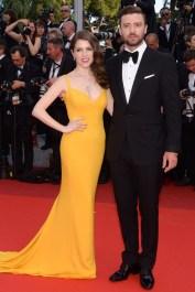 Justin Timberlake com a atriz e amiga Anna Kendrick,.