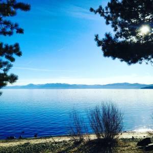 Kings Beach Lake Tahoe Listen Trust Jump 1.27.18
