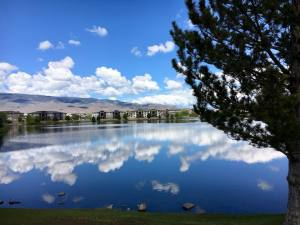 Solo Walk Vintage Lake Reflections 5.14.18