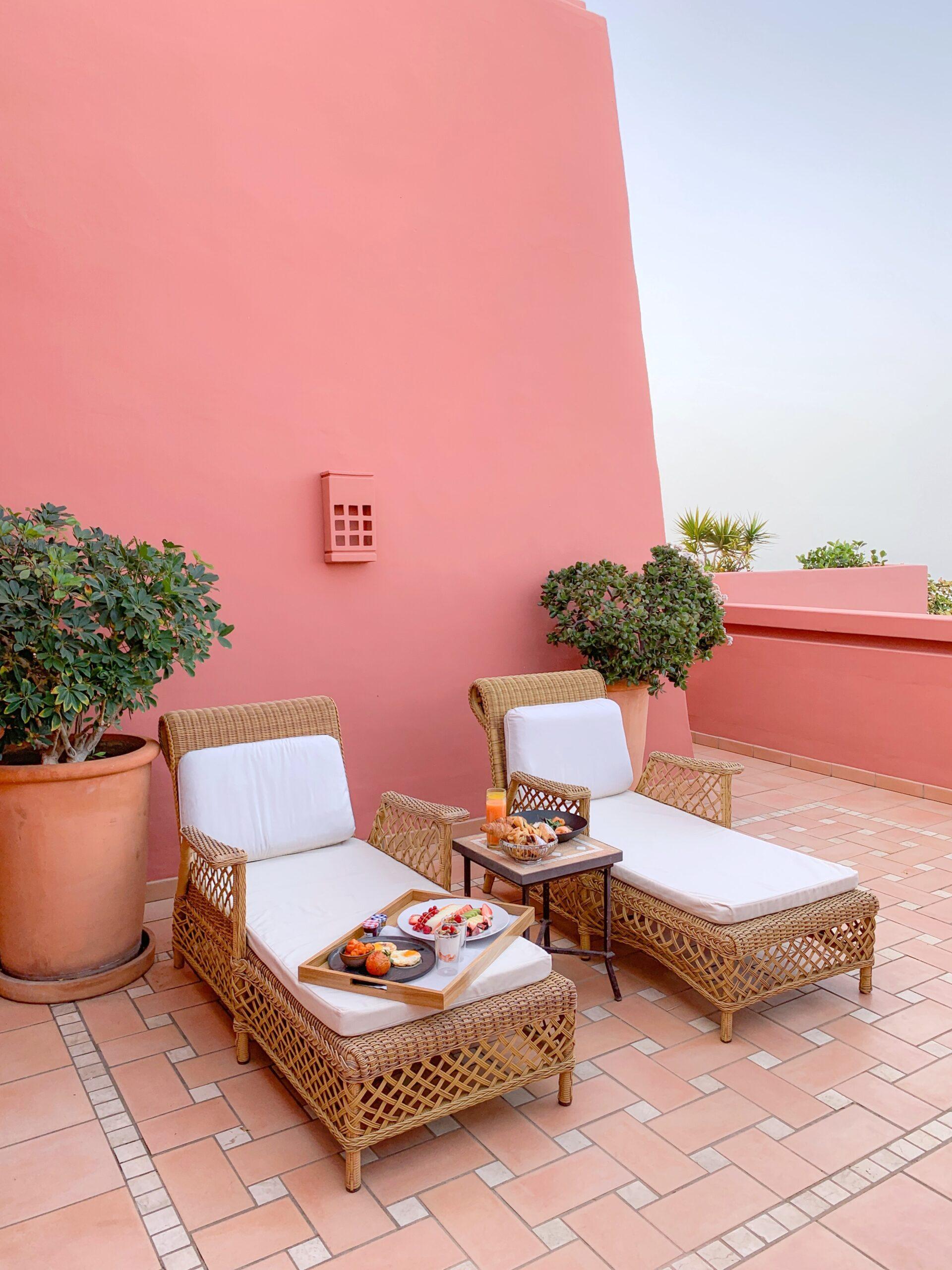 Ritz Carlton Abama Tenerife Terrace