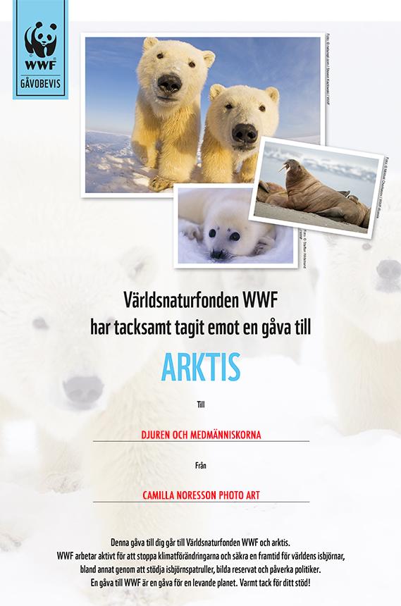 WWF gavobevis_arktis.indd