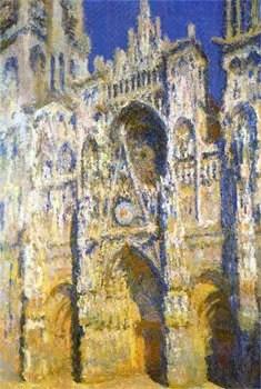 Tableau de Monet représentant la cathédrale de Rouen