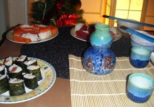 sushi sake cuisine japonaise