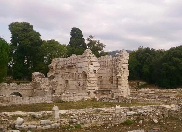 vestiges romains de cimiez