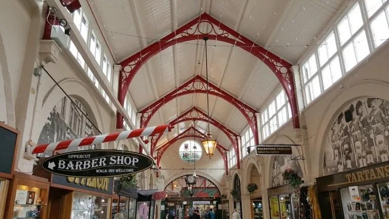 Le marché couvert victorien d'Inverness