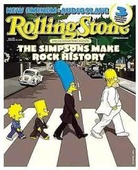 Rolling Stone une Simpsons